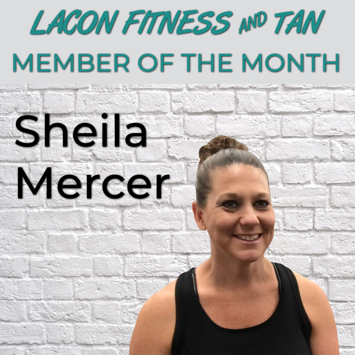 Sheila Mercer - July Member of the Month